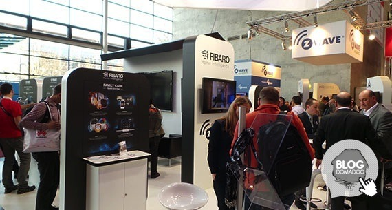 Fibaro CeBIT2014 Booth