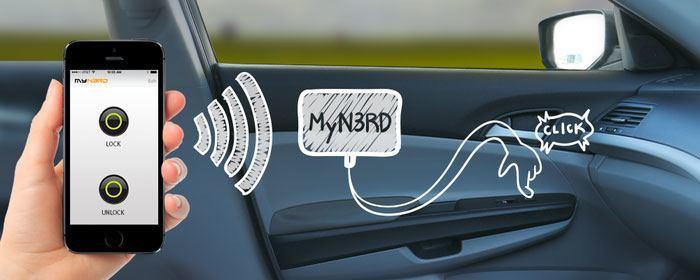 Contr lez en wi fi tout ce que vous voulez gr ce my n3rd for Ouverture porte de garage avec smartphone