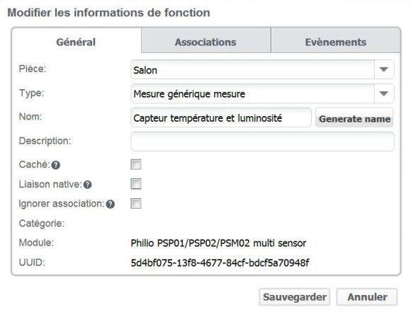 Guide d'installation du détecteur PSM02 Philio avec la Zipabox