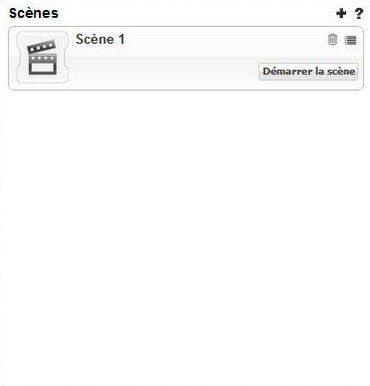 Création de scènes et règles avec la Zipabox