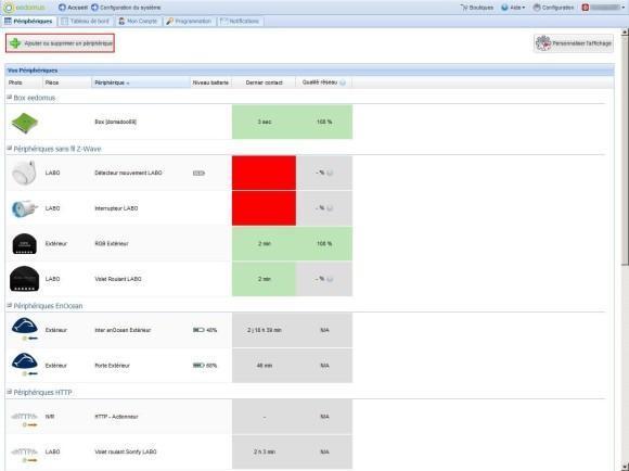 Guide d'utilisation du détecteur de choc Vision Security ZS5101 avec la Eedomus