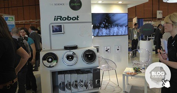 irobot innorobo 2014 booth