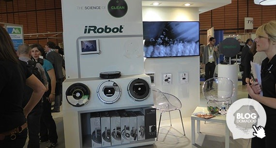 iRobot présente ses Roomba Série 800 à #INNOROBO 2014
