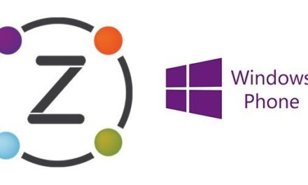 La ZiBASE a son application Windows Phone
