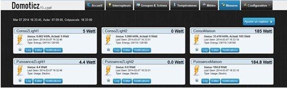 Domoticz energy2 Domoticz, Raspberry Pi et Z Wave