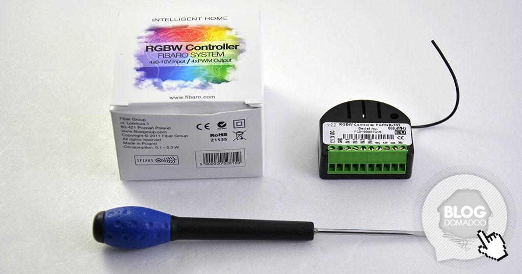 Guide d installation du contrôleur RGBW FGRGB 101