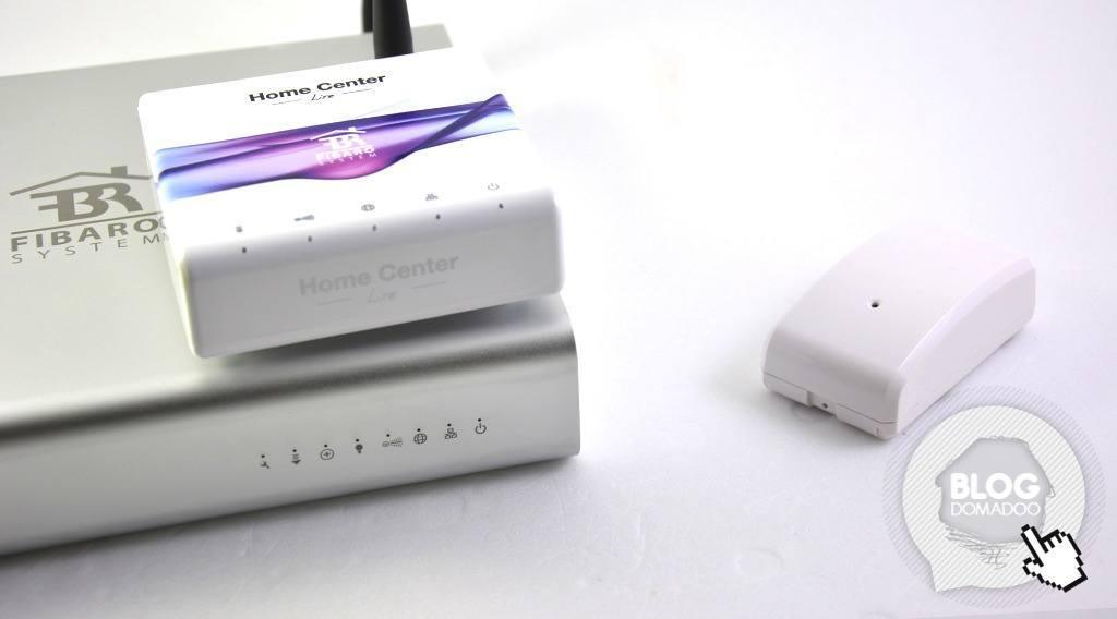 Guide utilisation detecteur choc vision security ZS5101 home center 2 lite