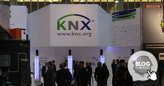 KNX booth light+building 2014