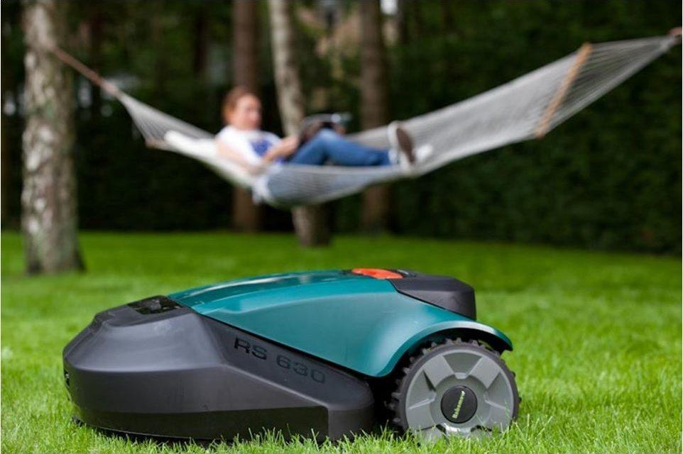 Robomow : tondre la pelouse avec votre Smartphone