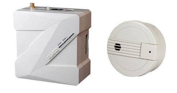 Zipabox et EVERSPRING Détecteur de fumée Z Wave SF812