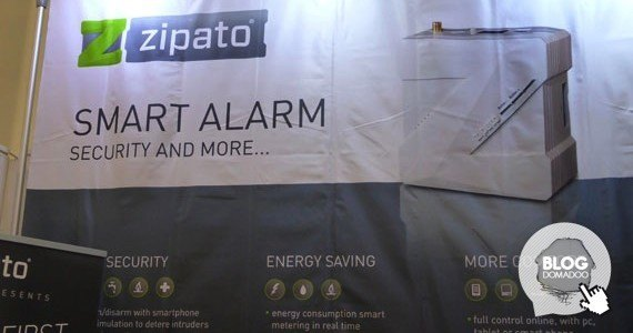 Zipato light+building 2014 booth1