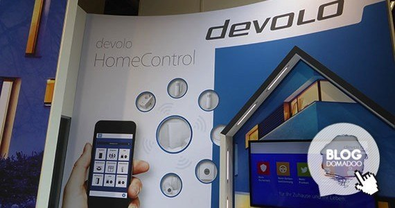 devolo home control light+building 2014 booth
