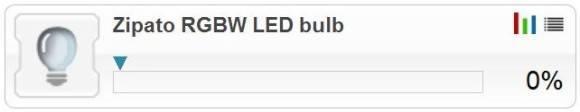 Guide d'utilisation de l'ampoule LED RGBW Z-Wave avec la Zipabox