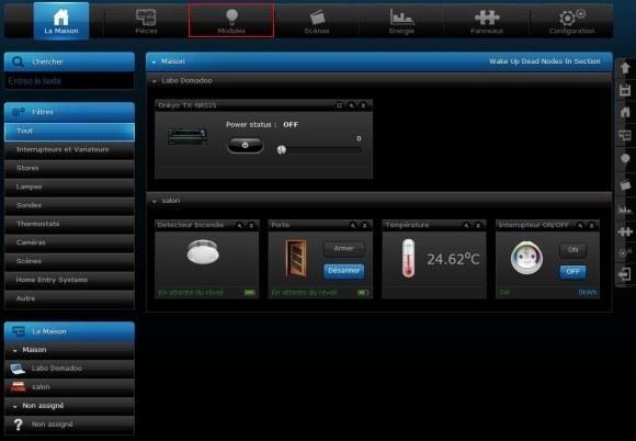 Guide d'utilisation du détecteur de mouvement Fibaro FGMS-001 avec le Home Center 2 et Home Center Lite