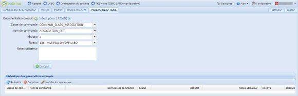 Guide d'utilisation de l'interrupteur ON/OFF double TKB Home TZ66D avec la eedomus