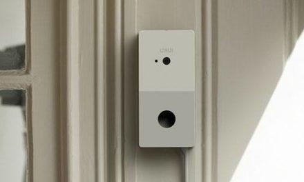 Chui, un portier vidéo Wi-Fi avec reconnaissance faciale