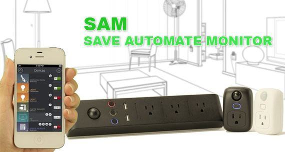 SAM : des prises et multiprises connectées