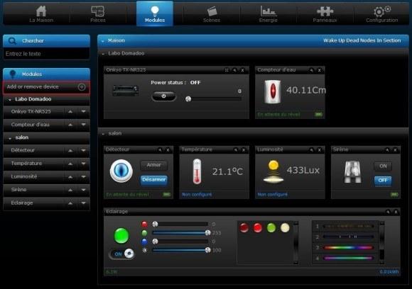 Guide d'installation du module Prise Commutateur/Mesure d'énergie AN158-6 EVERSPRING avec le Home Center 2 et Home Center Lite