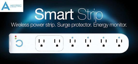 Aeon Labs Aeotec Z Wave Smart Power Strip