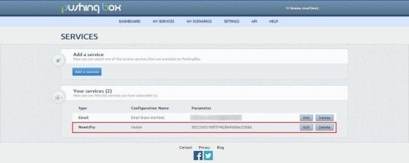 Guide de création d'une notification PUSH pour smartphone avec Android avec la Zibase