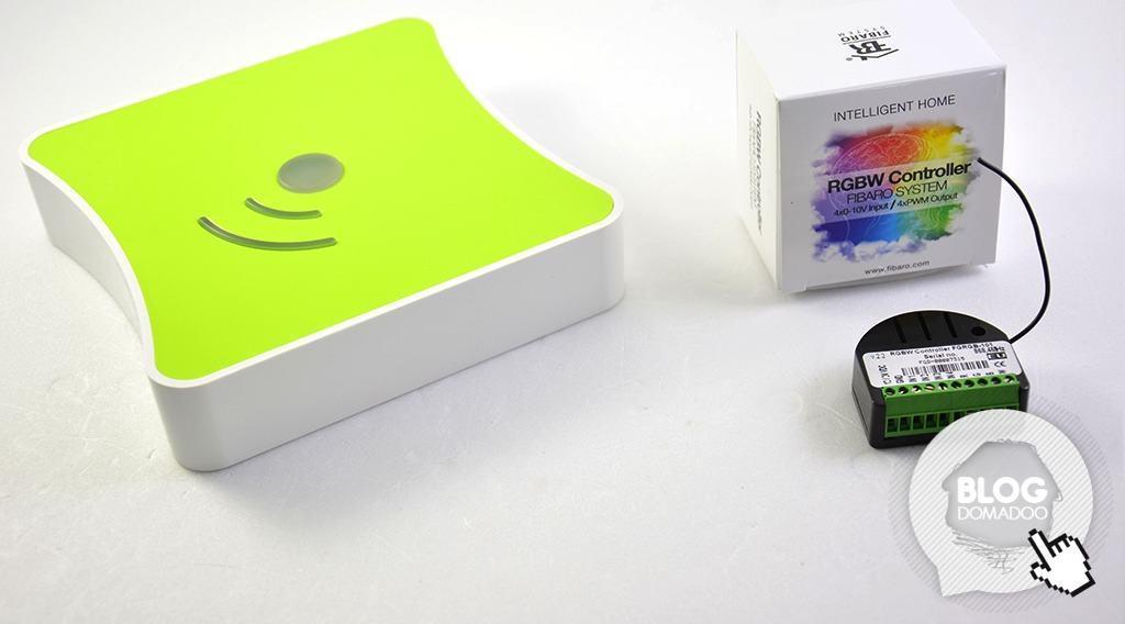 Guide d'utilisation du contrôleur RGBW Fibaro FGRGB-101 avec la box domotique Eedomus