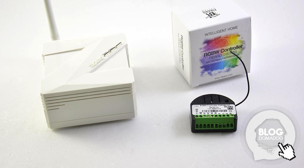 Guide utilisation du controleur RGBW Fibaro FGRGB 101 avec la