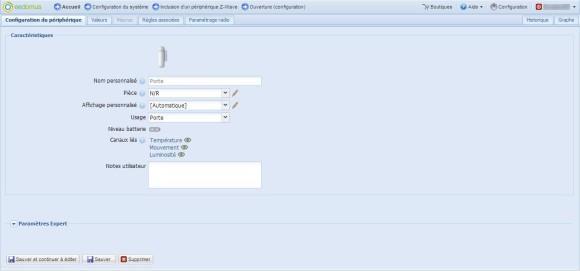 Guide d'utilisation du détecteur PSM02 Philio avec la Eedomus