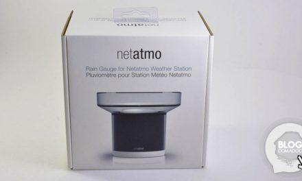 Le pluviomètre Netatmo arrive !
