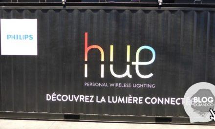 Visite de la maison connectée Philips Hue aux Nuits Sonores de Lyon