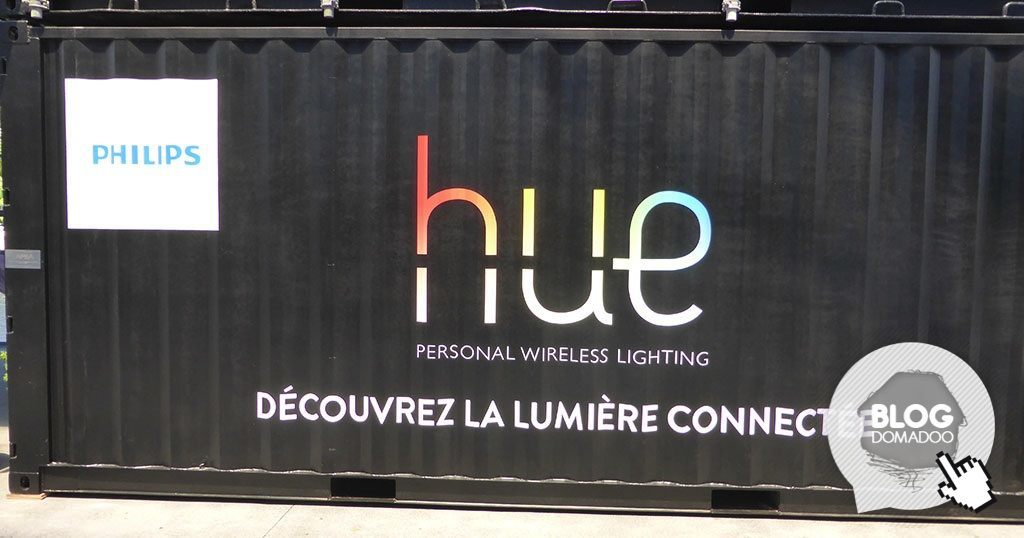 Philips Hue conteneur nuits sonores 2014