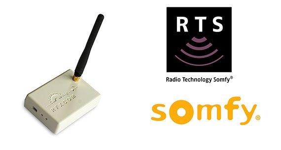 RFXCOM devient compatible Somfy RTS avec sa nouvelle interface RFXtrx433E