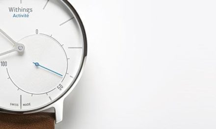 Withings annonce sa montre connectée Withings Activité