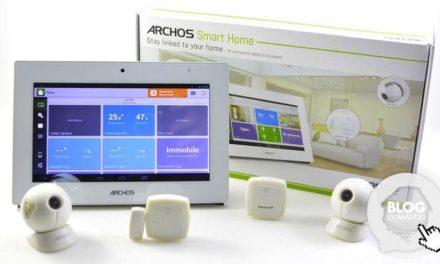 Découverte de la solution Domotique Archos Smart Home