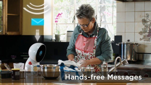 JIBO_hands_free_message