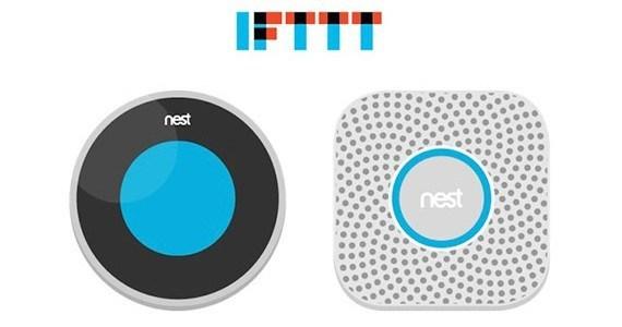 Nest IFTTT une
