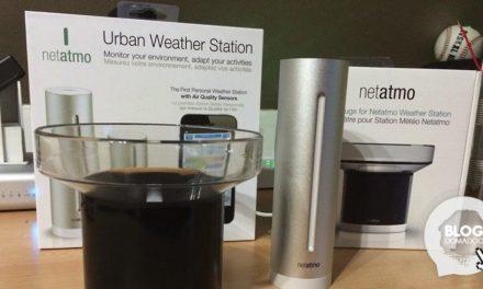 Test de la station météo et du pluviomètre Netatmo