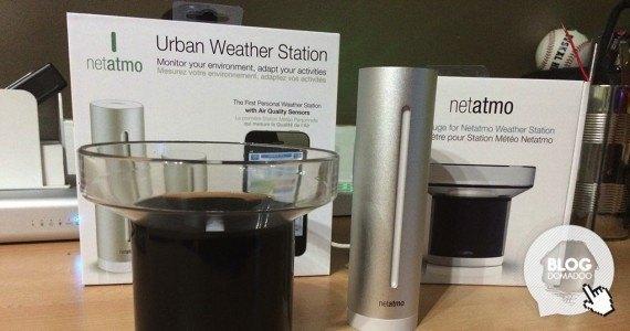 Netatmo station meteo pluviometre une