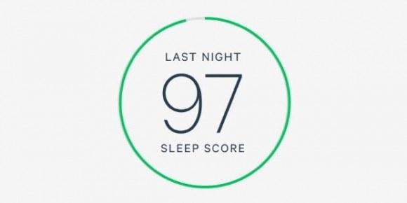 Sense sleep note 580x290 Sense améliore la qualité de votre sommeil