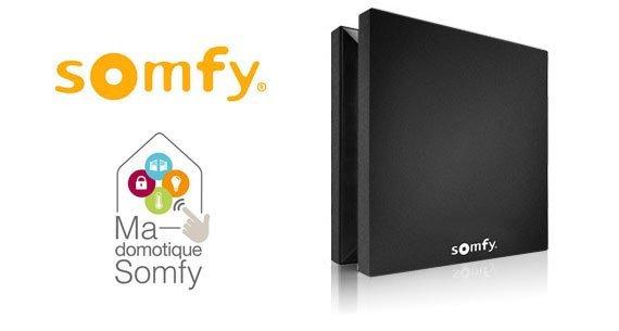 Test de la box domotique Somfy Box