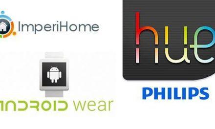 ImperiHome 2.3 : support des ampoules Philips Hue et de Android Wear