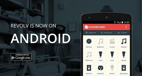 revolv android app une