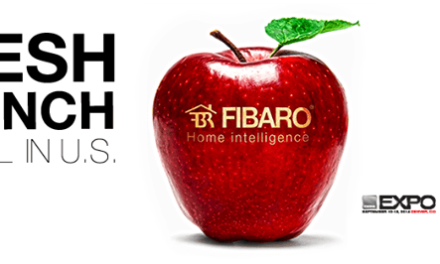 Fibaro présente quatre nouveaux périphériques au CEDIA