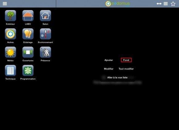 Eedomus dévoile le nouveau mode d'affichage de son interface