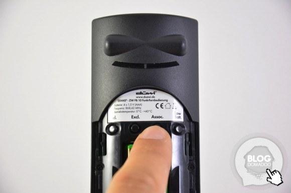 Guide d'utilisation de la télécommande Z-Wave Duwi 05545 avec la box domotique Eedomus