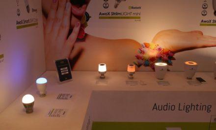 AwoX présente ses nouvelles ampoules intégrant une caméra ou un diffuseur de parfum…