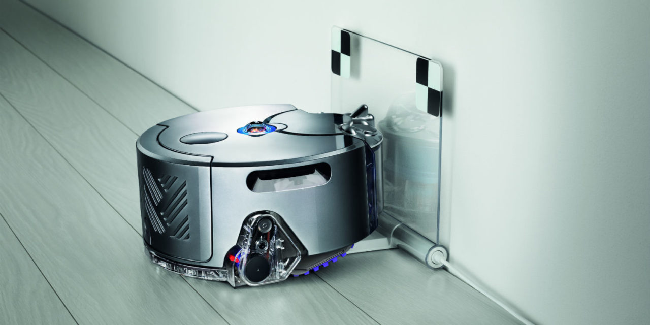 L'aspirateur robot cyclonique Dyson 360 Eye part à l'attaque des poussières