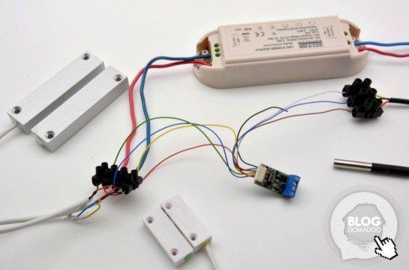 Comment exploiter simplement l'état d'un détecteur filaire dans son réseau Z-wave