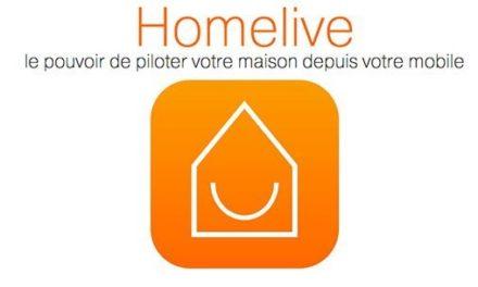 Homelive, la solution domotique Z-Wave d'Orange