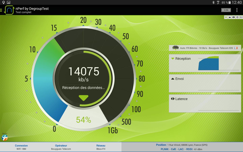 nPerf, pour mesurer la qualité de votre ligne mobile