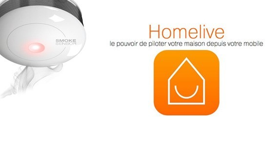 Homelive test FGSS 001 smokesensor couverture